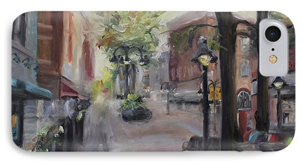 Charlottesville's Historic Downtown Mall IPhone Case by Donna Tuten