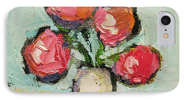 IPhone Case featuring the painting Charming Still Life by Becky Kim