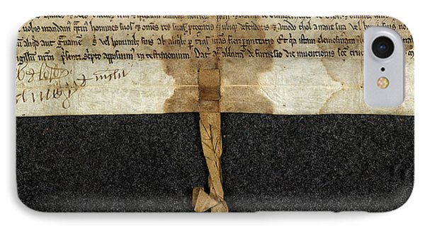 Charter Of Magnus IPhone Case by British Library