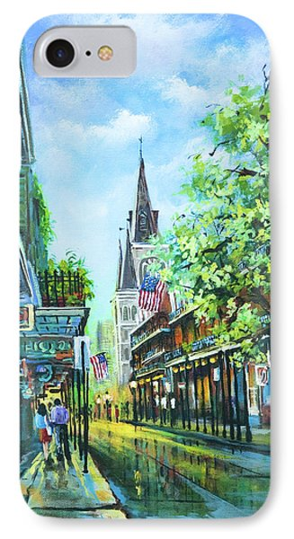 Chartres Afternoon IPhone Case by Dianne Parks