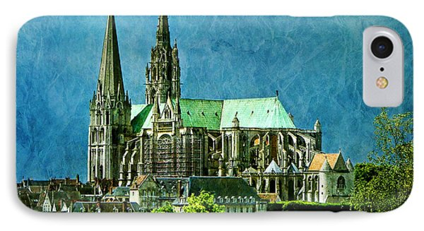 Chartres Cathedral IPhone Case by Nikolyn McDonald
