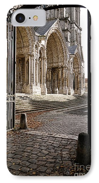 Chartres Cathedral North Transept IPhone Case
