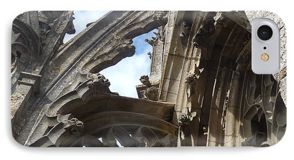 IPhone Case featuring the photograph Chartres Flying Buttress by Deborah Smolinske