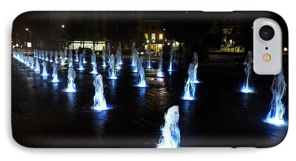 IPhone Case featuring the photograph Chartres Street Fountains by Deborah Smolinske