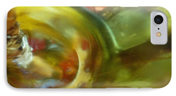 IPhone Case featuring the photograph Chartreuse Series Abstract Xiv by Ginny Schmidt