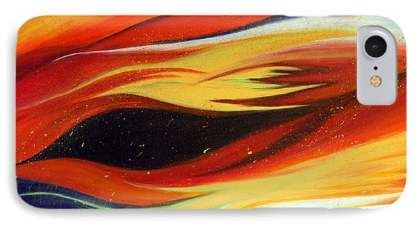 IPhone Case featuring the painting Charybdis by Michelle Joseph-Long