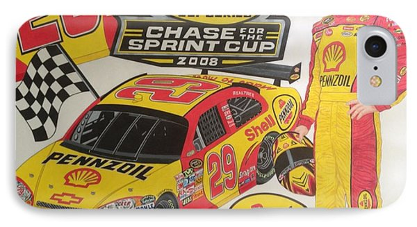 Chase For The Cup 2008 IPhone Case