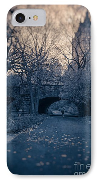 Chased Through Central Park IPhone Case