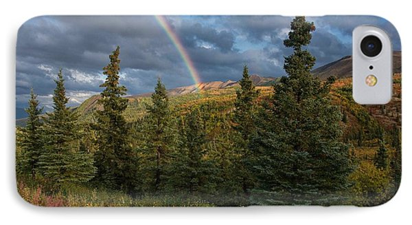 Chasing Our Pot Of Gold IPhone Case by Darlene Bushue
