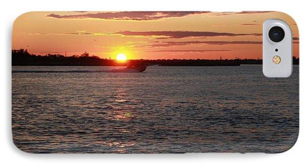 Chasing The Freeport Sunset IPhone Case