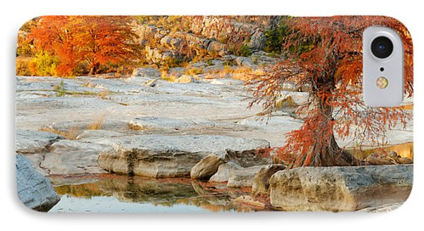 Chasing The Light At Pedernales Falls State Park Hill Country Phone Case by Silvio Ligutti