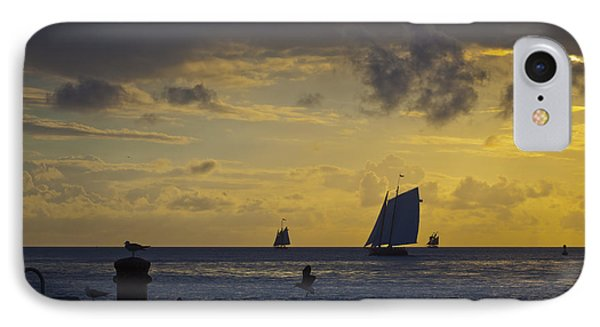 Chasing The Wind Vii IPhone Case by Scott Meyer
