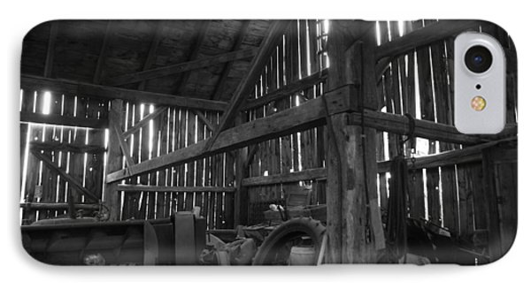 IPhone Case featuring the photograph Chassell Barn by Jenessa Rahn