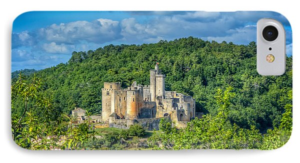 Chateau Bonaguil IPhone Case by Tony Priestley