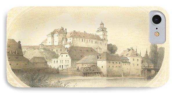 Chateau Brandys Nad Labem IPhone Case by Jenny Rainbow