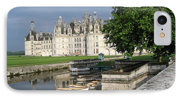 Chateau Chambord Boating IPhone Case