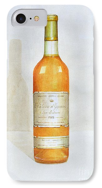 Chateau D Yquem Phone Case by Lincoln Seligman