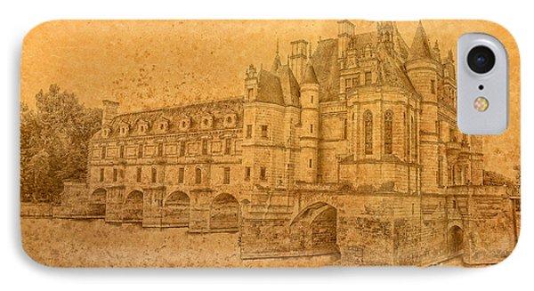 IPhone Case featuring the photograph Chateau De Chenonceau by Nigel Fletcher-Jones