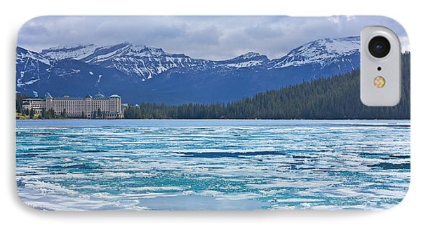Chateau Lake Louise #2 IPhone Case by Stuart Litoff