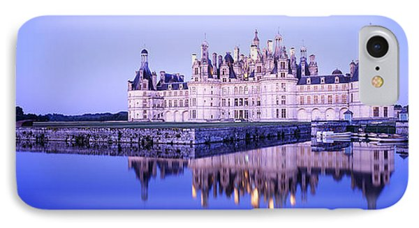 Chateau Royal De Chambord, Loire IPhone Case by Panoramic Images