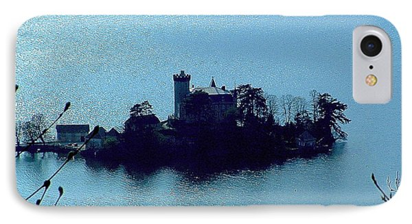 Chateau Sur Lac IPhone Case by Marc Philippe Joly