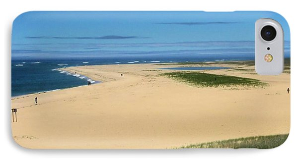 IPhone Case featuring the photograph Chatham Dunes by David Rizzo