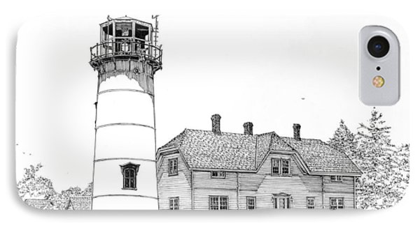 Chatham Light IPhone Case by Ira Shander