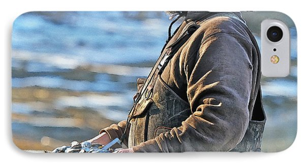 Chatham Soft Shell Clams IPhone Case by Constantine Gregory