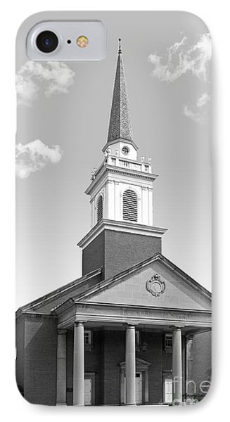 Chatham University Campbell Memorial Chapel IPhone Case by University Icons