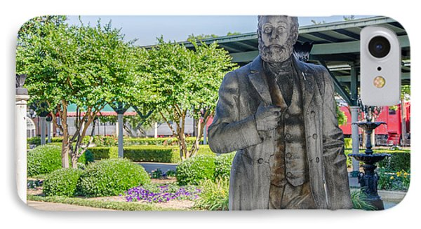 IPhone Case featuring the photograph Chattanooga Choo Choo Court Yard by Susan  McMenamin