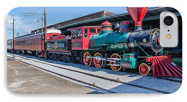 IPhone Case featuring the photograph Chattanooga Choo Choo by Susan  McMenamin