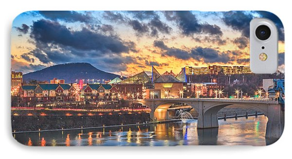 Chattanooga Evening After The Storm Phone Case by Steven Llorca