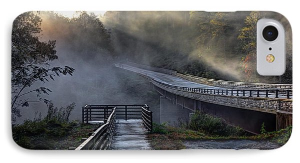 Chattooga River Bridge IPhone Case
