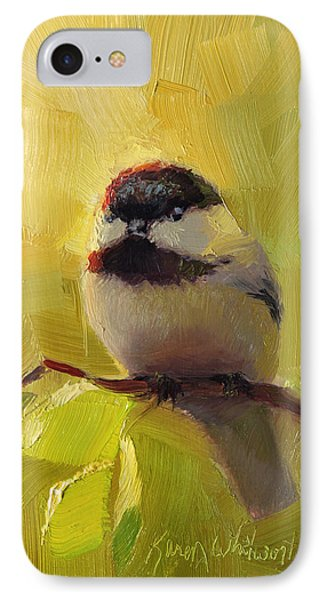 Chatty Chickadee - Cheeky Bird IPhone 7 Case