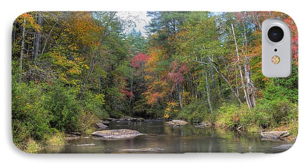 Chauga River Fall Scenic IPhone Case