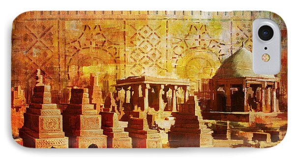 Chaukhandi Tombs IPhone Case by Catf