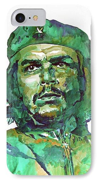 Che Guevara IPhone Case by David Lloyd Glover