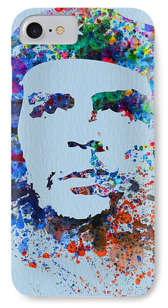 Che Guevara Watercolor IPhone Case by Naxart Studio