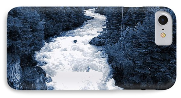 IPhone Case featuring the photograph Cheakamus Glacial River - Whistler by Amanda Holmes Tzafrir