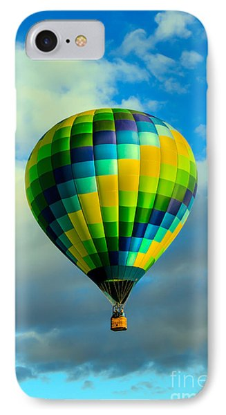 Checkered Balloon IPhone Case by Robert Bales
