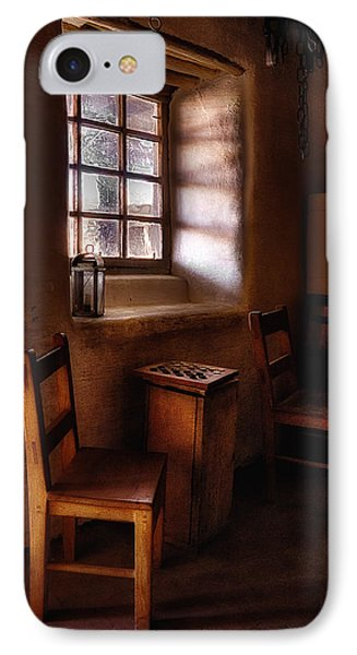 Checkers At Bent's Old Fort Phone Case by Priscilla Burgers