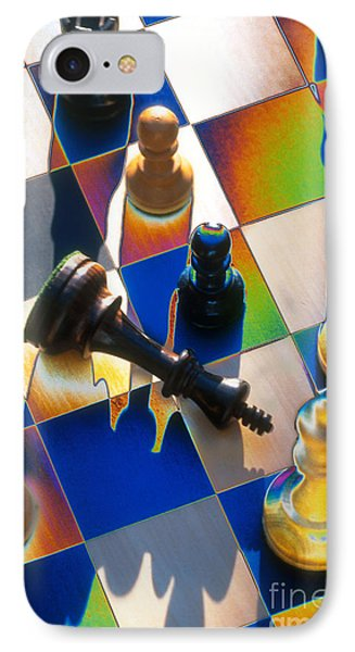 Checkmate IPhone Case by Mike Agliolo