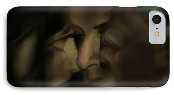 Cheek To Cheek IPhone Case by Pedro L Gili