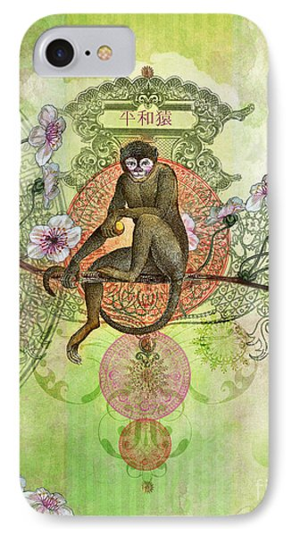Cheeky Monkey Phone Case by Aimee Stewart