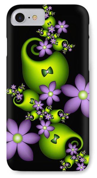 IPhone Case featuring the digital art Cheerful by Gabiw Art
