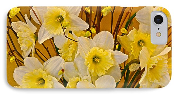 Cheerful Warmth Of Spring Phone Case by Byron Varvarigos