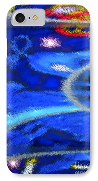 Cheers To A New Year IPhone Case by Gwyn Newcombe