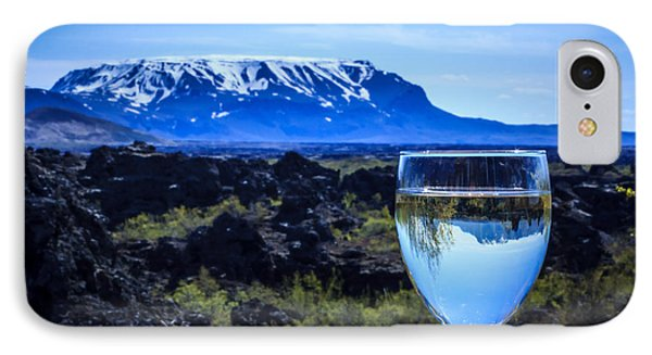 Cheers To Iceland IPhone Case by Peta Thames