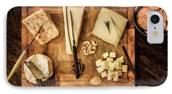 Cheese Platter IPhone Case by Semmick Photo