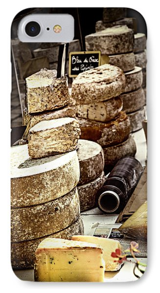 Cheeses On The Market In France Phone Case by Elena Elisseeva